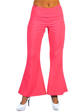 Deluxe Ladies Flared Trousers