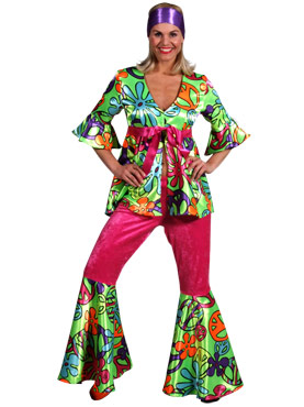 Adult 60s Magic Girl Costume