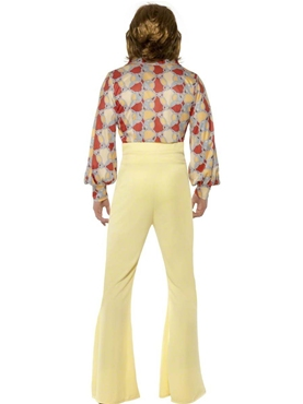 Adult 1970's Mens Disco Costume - Side View