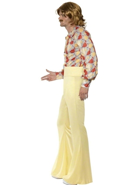 Adult 1970's Mens Disco Costume - Back View