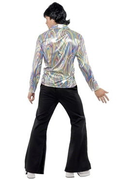 Adult 70's Mens Retro Costume - Back View