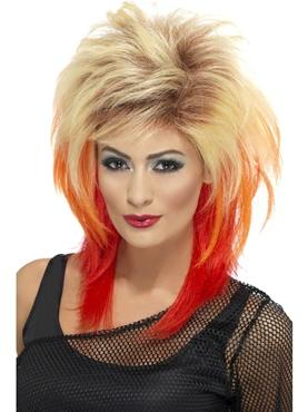 80's Blonde Mullet Wig