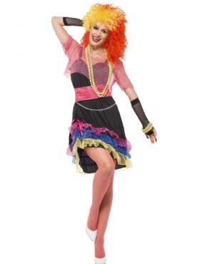 Adult 80s Fun Girl Costume