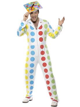 Adult Male Twister Costume Thumbnail