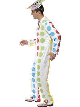Adult Male Twister Costume - Back View