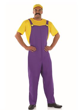 Adult Yellow Plumbers Mate Costume