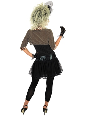 Adult 80's Pop Star Costume - Side View