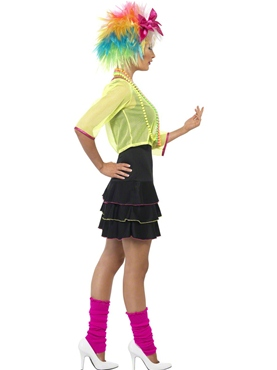 Adult 80's Pop Tart Costume - Back View