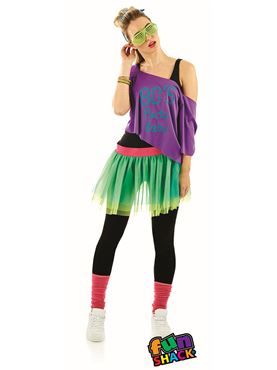 80's Print TuTu Kit - Back View
