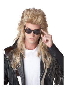 80's Rock Mullet Wig