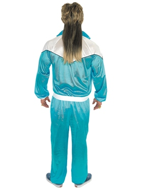 Adult 80's Shell Suit Costume - Side View