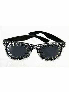 80s Spike & Rhinestone Glasses