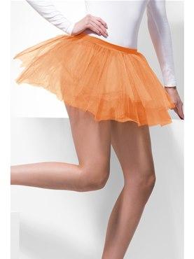 80's Tutu Neon Orange