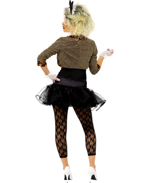 Adult 80s Wild Child Costume - Back View