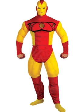 Iron Man Deluxe Muscle Costume