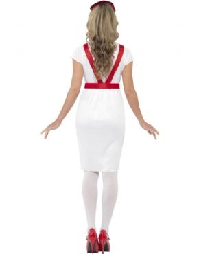 Adult A & E Nurse Costume - Side View