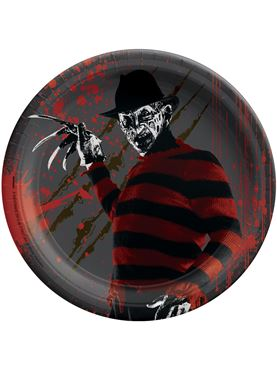 A Nightmare on Elm Street Paper Plate