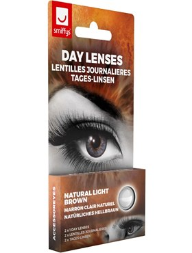 Accessoreyes Natural Colour 1 Day Wear Contact Lenses - Back View