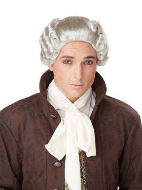 Adult 18th Century Peruke Wig