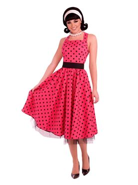 Adult 1950s Pretty in Polkadots Costume