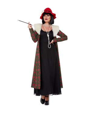 Adult 20s Gangster's Moll Costume Couples Costume