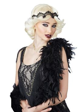 Adult 20s Glitz and Glamour Wig