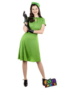 Adult 40's Dress Costume