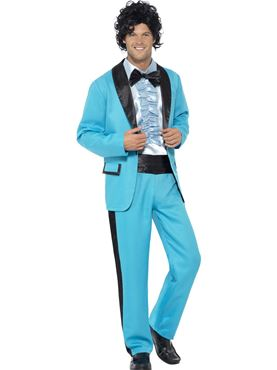 Adult 80s Prom King Costume