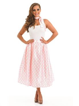 Adult 50s Pink Rock n Roll Skirt