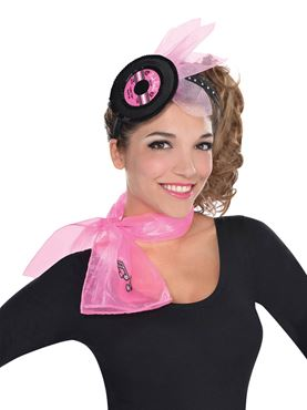 Adult 50s Record Headband
