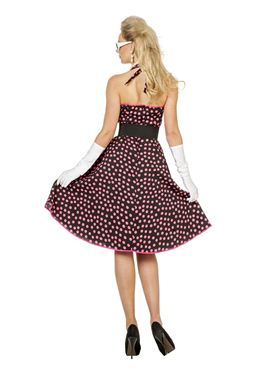 Adult 50s Rock & Roll Costume - Side View