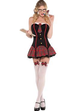 Adult Nerdy & Flirty Costume