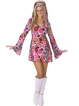 Adult 60s Feelin Groovy Costume