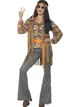 Adult 60's Hippie Singer Costume