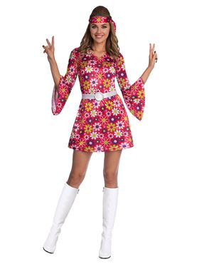 Adult 60s Retro Girl Costume