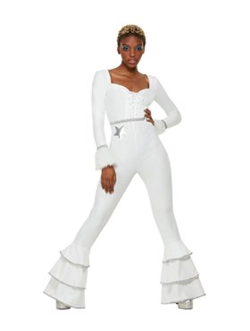 Adult 70s Deluxe Glam Costume