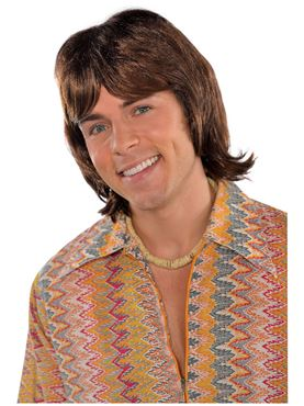 Adult 70's Heartthrob Wig