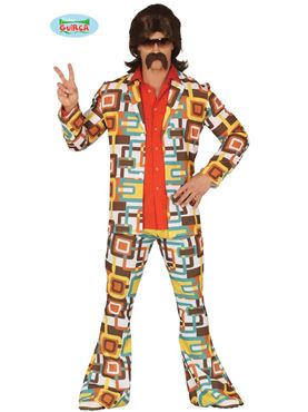 Adult 70's Man Costume Couples Costume