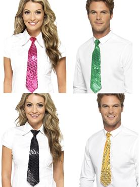 Adult Assorted Sequin Ties