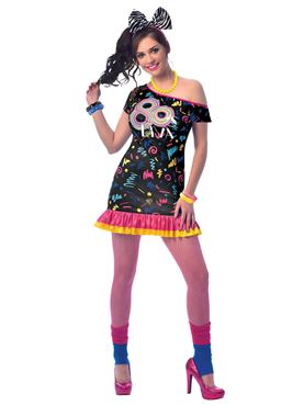 Adult 80's Girl Costume