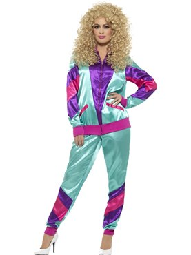 Adult 80's Height of Fashion Shell Suit