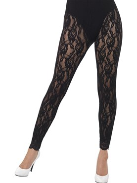 Adult 80s Lace Leggings