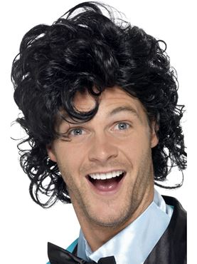 Adult 80s Prom King Wig