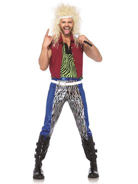 Adult 80s Rock God Costume