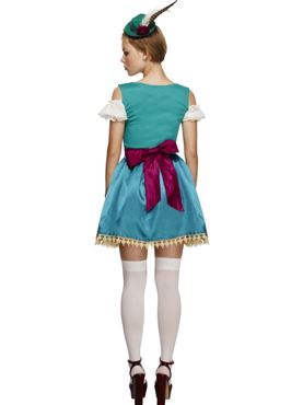 Adult Fever Deluxe Dirndl Costume - Side View