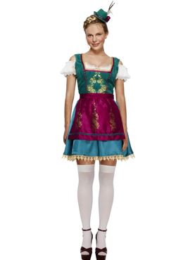 Adult Fever Deluxe Dirndl Costume Thumbnail