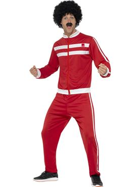 Adult 80s Scouser Tracksuit Costume