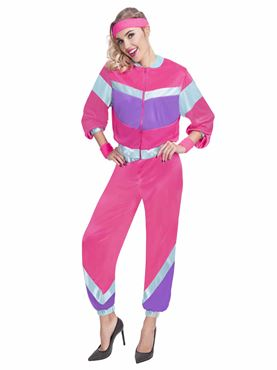 Adult 80s Shell Suit Costume Couples Costume
