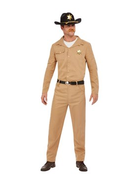 Adult 80s Sheriff Costume