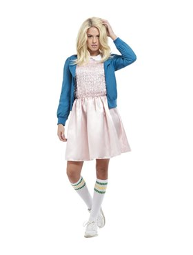 Adult 80's Strange Girl Costume Couples Costume